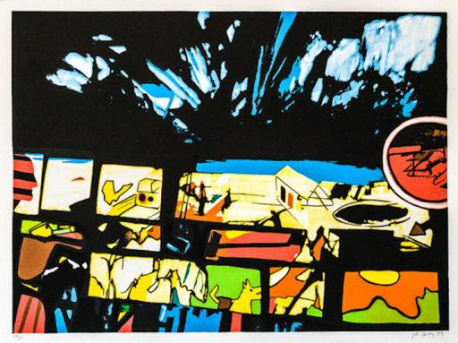 John Philip HULTBERG - 版画 - Fragments of a Dream