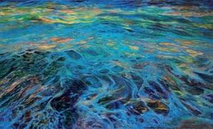 Ekaterina VORONA - Painting - Blue