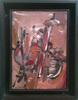 Ladislas KIJNO - Pittura - Abstract Composition
