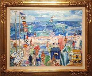 Carlos NADAL - Pintura - MER ENSOLEILLÉE