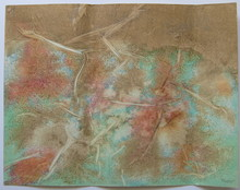 Jean PIAUBERT - Drawing-Watercolor - TECHNIQUE MIXTE PAPIER SIGNÉ CRAYON HANDSIGNED MIXED DRAWING