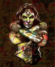Hans DIRTY - Print-Multiple - Wonderwoman