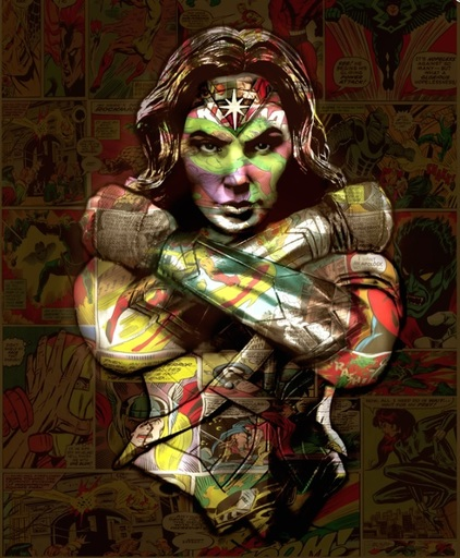 Hans DIRTY - Print-Multiple - Wonderwoman
