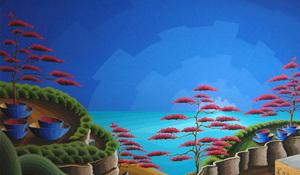 Steven KLUCHIK - Painting - Dreamscape