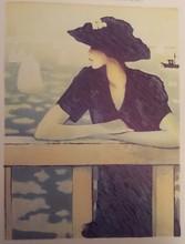 让-皮埃尔•卡西尼尔 - 版画 - L INCONNUE DEVANT LA MER (1976) CR  126