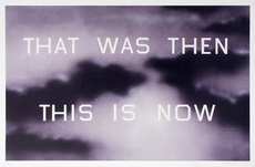 Ed RUSCHA - Print-Multiple - That Was Then This Is Now