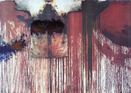 Hermann NITSCH - Pittura - Übermalte Bild
