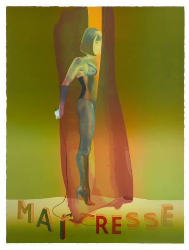 Allen JONES - Print-Multiple - Maitresse Folio Screenprint II