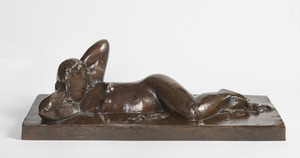 Joseph CSAKY - Sculpture-Volume - Femme dormant