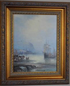 William Georges THORNLEY - Painting - Whitby/Scarborough