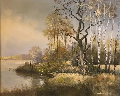 Hermann MUTH - Pittura - Birken am See