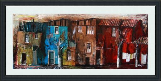 Zurab GIKASHVILI - Gemälde - Small houses