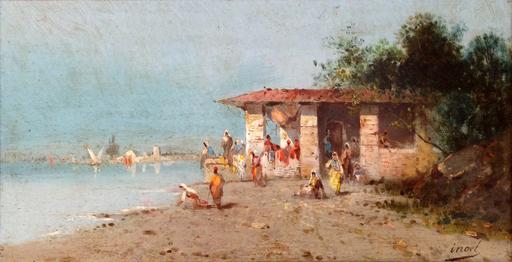 INOEL - Pintura - Sulle rive del Nilo