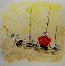 Serge Louis TUQUET - Drawing-Watercolor - Carénage