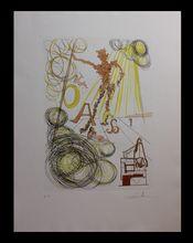 Salvador DALI - Peinture - La Linotype
