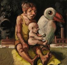 Jörg HERMLE - Pintura - La mouette