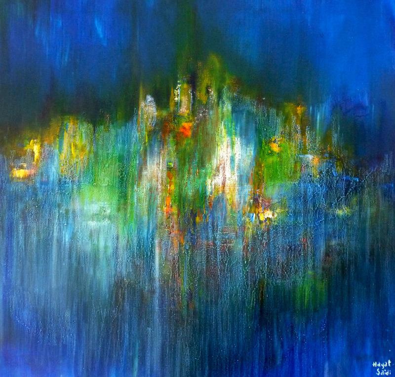 Hayat SAIDI - Gemälde - Énergie