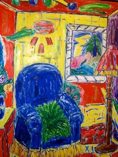 Etienne ELIAS - Painting - Modern Appartement