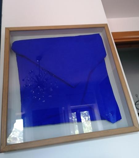 Cesare BERLINGERI - Painting - Misterioso blu