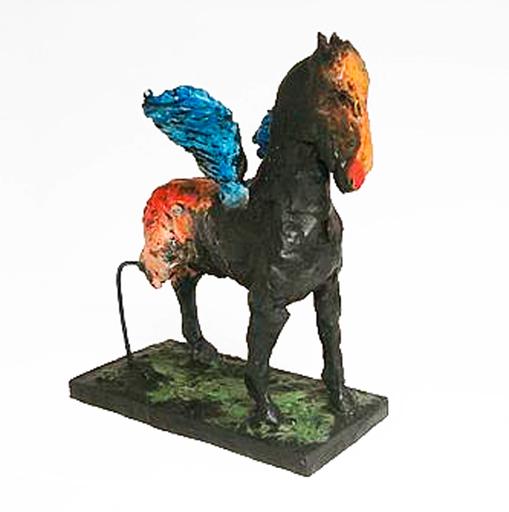 Markus LÜPERTZ - Escultura - Pegasus