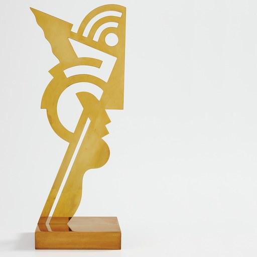 Roy LICHTENSTEIN - Sculpture-Volume - Modern Head 1