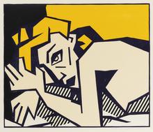 Roy LICHTENSTEIN - Grabado - Reclining Nude