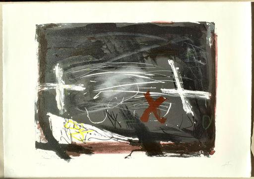 Antoni TAPIES - Stampa-Multiplo - La practica de l'art