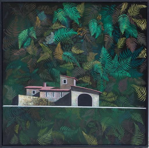 Jules PERAHIM - Pintura - Surealistic Composition