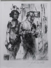 Lovis CORINTH - Print-Multiple - Im Atelier