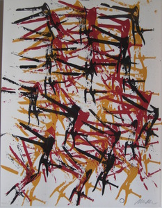 Fernandez ARMAN - Stampa-Multiplo - LITHOGRAPHIE SIGNÉE CRAYON NUM/250 HANDSIGNED LITHOGRAPH