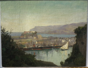 Ludwig WILLROIDER - Pintura - Gibraltar