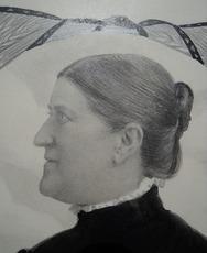 Hedwig SCHERRER - Dessin-Aquarelle - Gertrud Villiger-Keller