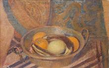 Hippolyte PETITJEAN - Painting - Nature Morte aux Fruits