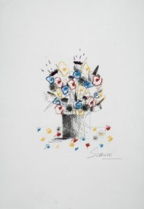 Wilhelm SCJHLOTE - Print-Multiple - Blumenstrauss