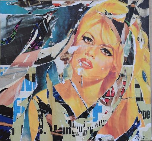 Mimmo ROTELLA - Peinture - B.B.