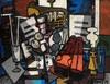 Claude VENARD - Painting - Composition au Violon