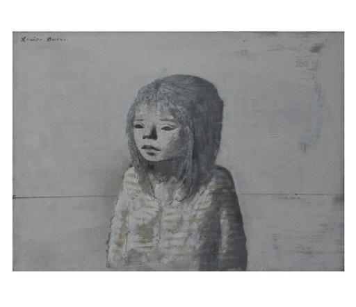 Xavier BUENO - Pittura - Bambina