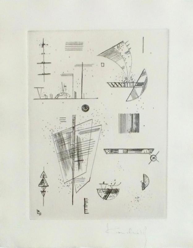 Wassily KANDINSKY - Print-Multiple - Composition