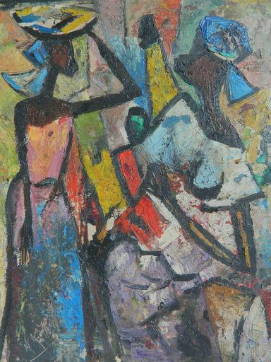 Nkusu FELELO - Pintura - AFRIQUE - AFRICA