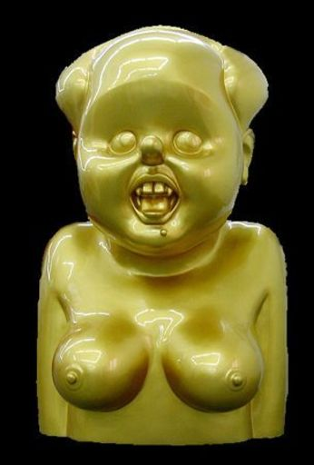 GAO BROTHERS - Sculpture-Volume - Miss Mao No.2