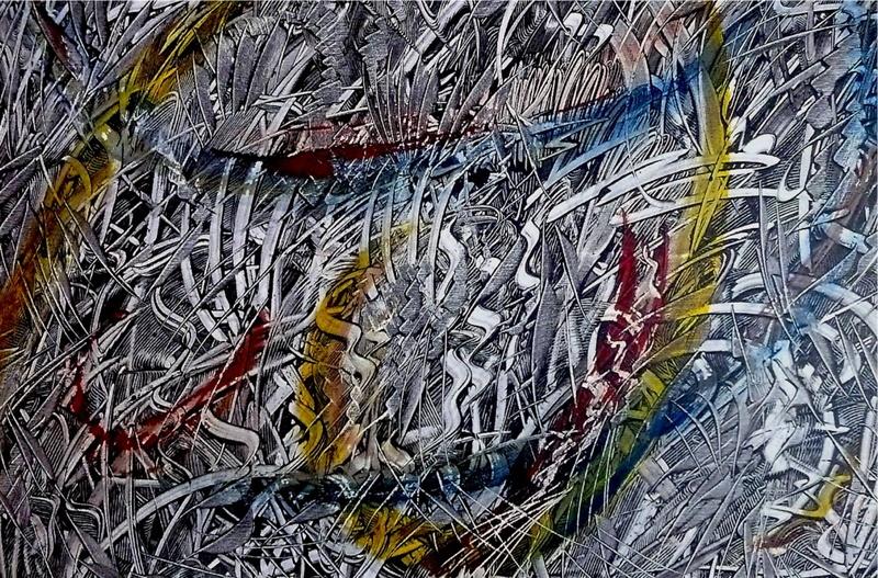 Didier ANGELS - Peinture - La Fraternité