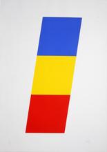 艾尔斯沃茲‧凱利 - 版画 - Blue Yellow Red