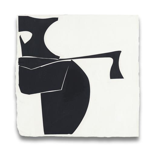 Joanne FREEMAN - Painting - Covers 13-Black B