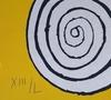 Alexander CALDER - Print-Multiple - Snail and spirals, 1970