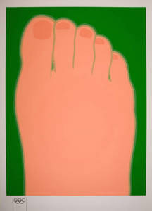 Tom WESSELMANN - Stampa Multiplo - Big foot