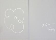 Jeff KOONS - Dibujo Acuarela - Untitled
