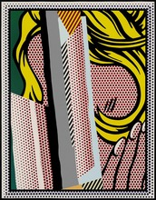 Roy LICHTENSTEIN - Estampe-Multiple - Reflections on Hair, from: Reflections Series