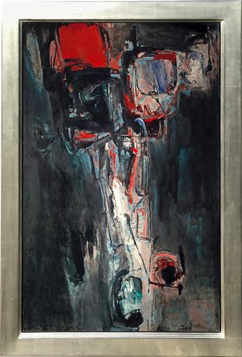 George TOUYAS - Peinture - La Chute D' Lcare