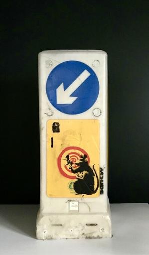 BANKSY - Painting - Radar Rat