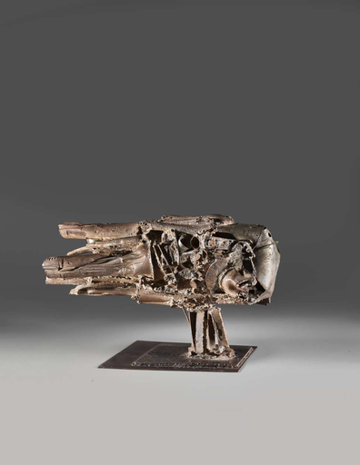CÉSAR - Sculpture-Volume - Moteur n°3